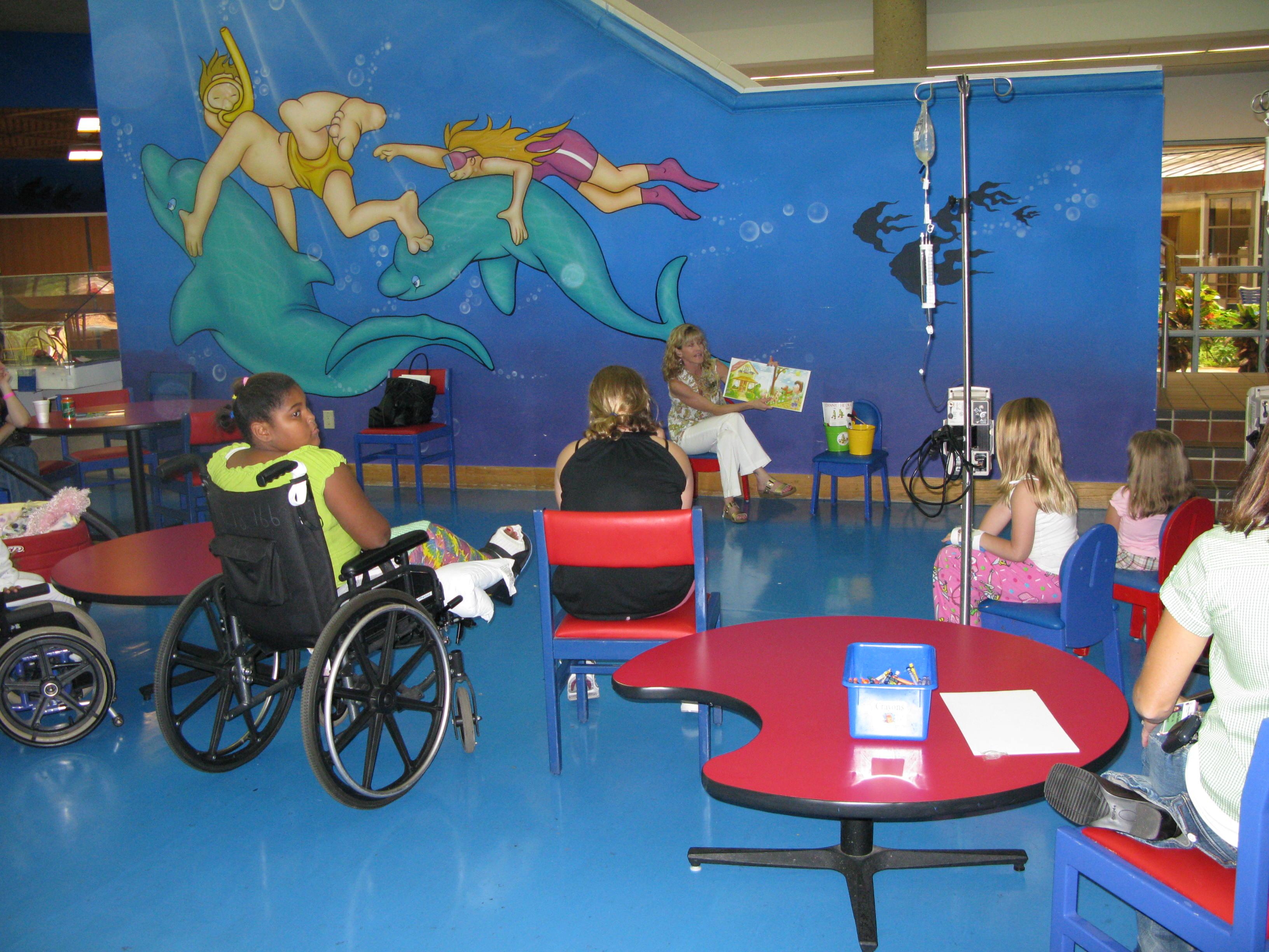 Image result for children's hospital inside